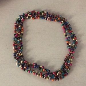 Jewelry - Funky Long Multi-Colored Necklace